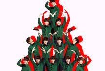 kpop y anime navidad