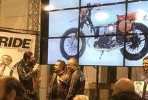 MBE MOTOR BIKE EXPO VERONA / Contest Lowride Magazine MBE MOTOR BIKE EXPO VERONA  , premiazione della BMW Guardinetta by LUISMOTO categoria Scrambler