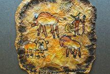 Arte rupestre-aborigen-africano