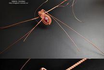 Wire wrap jewelery