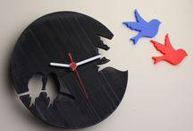 Decoración / Múltiples accesorios para el hogar desde relojes hasta soporte de auriculares impresos en 3D