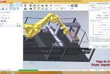 VITTONI Cad/Cam Services / Servizi Cad/Cam. Progettazione meccanica 3D. Lavorazioni meccaniche a 3-5 Assi Lavorazioni attraverso robot industriali