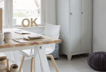 Nieuw huis studeer/hobbykamer