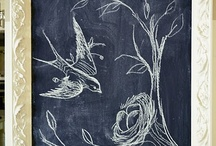 Chalkboard Everything / by Kathy Riley