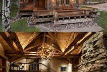 drevené chaty