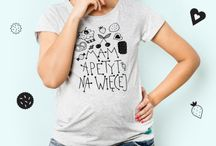 T-shirt dla kobiet w ciąży