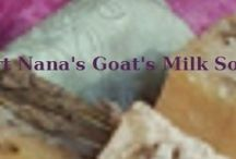 Goat lotions, potions, and soaps / everything other than cheese to use up Nellie's milk / by Meredith e