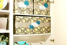 Get Organized / Organize ideas. / by Anne whitelacecottage