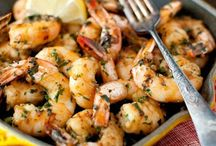 Fish, Shrimp, Scallops, Crab and Other Seafood / by Rachel Smitherman