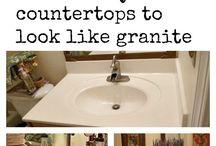 DIY RENO counter tops