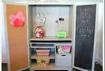 Home - craft and office space