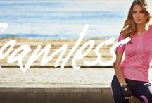 Seamless Line / Show your body some love in super soft, comfort-fitting seamless pieces that feel amazing against the skin and work hard to keep you sweat free.
