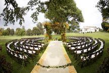 Table Settings Ideas For Outdoor Wedding / www.weddingsatcrystalsprings.com