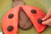 Fun food from Kids Menu Books! / Math can be fun with food...