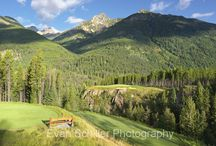 Canada / Photography of golf courses in Canada