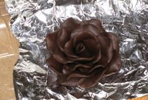 Čokoládové ozdoby