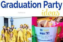 Graduation/Birthday Party ideas for next summer!