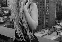 City art black and white