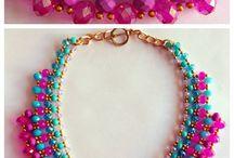 Bead necklace &kolyeler