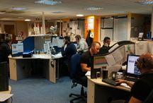 Here At EEC Home improvements. / Just a few pictures of us here at EEC home improvements head office....