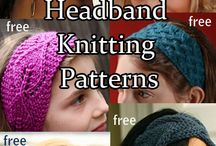 Knitting - Hats & headbands