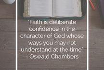 A woman of faith.