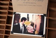 Kraft Wedding Invite