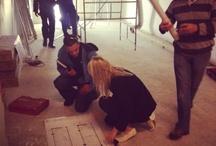 S O U T H  A F R I C A N  S T O R E. (Johannesburg, 2012 - 2014) / Building the Malée Store Johannesburg.