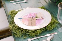 table set {design} / Destination wedding inspirations | table setting