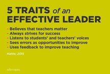 Leadership / Inspiration.
