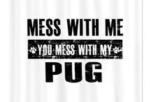 Pugs / by Amanda Demers