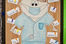 Speech Therapy- Community Helpers Theme / Community helpers-themed activities for speech/language therapy
