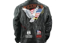 USA Patches Motorcycle Jacket
