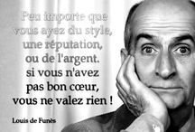 Mots d'acteurs / actors's quotes