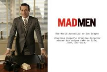 Mad Men Obsession / Some days I actually believe I'm Joan Harris! I wish I was a redhead!!!