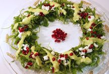 Χριστουγενιατικες  σαλατες