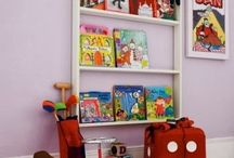 frontal bookshelf