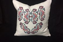 pillow with heart design
