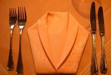 Party napkin folding / by Deb Gilbert