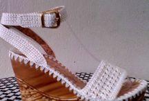 shoes Croche