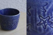 [DIASTEM] Céramique / les créations en terre émaillée de l'atelier.