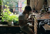 Art studios / Inspiration for my future dream studio