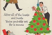 Vintage Christmas / Nostalgic Christmas decorations and vintage Christmas cards and illustrations.  You'll find many of the Christmas cards at Birdhouse Books: http://stores.ebay.com/Birdhouse-Books / by Birdhouse Books