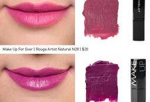 Purple Lipsticks....a growing obsession / by Jen Hernandez Banys
