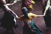 Fashion ~ Traditional & Folk