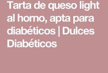 Tarta para diabéticos
