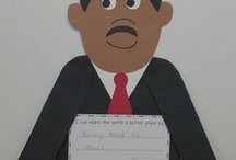 January:  Martin Luther King Day (Crafts, Storytime & Other Classroom Activities)