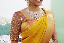 Blouse & saree to try