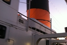 The Queen Mary / The Queen Mary, permanently docked in Long Beach, CA. Awesome piece of history!! Love The Queen Mary! / by Andrea Bricker