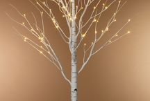 Birch Trees / Modern yet rustic and cozy uses for the beautiful birch tree
